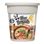 Zupka o smaku wołowiny Panda noodles beef flavour cup 60g, Thai Temple